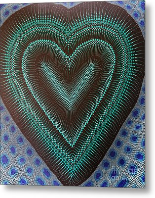 Aboriginal Inspirations 5 Metal Print by Mariusz Czajkowski