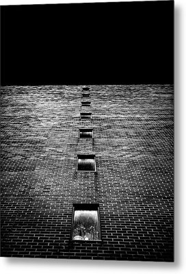 Metal Print featuring the photograph Above And Below At No 369 Pape Ave Toronto Canada by Brian Carson
