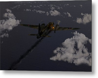 Above And Beyond - Jimmy Ward Vc Metal Print by Gary Eason
