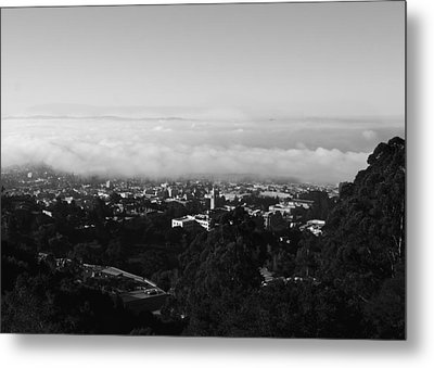 Metal Print featuring the photograph Above Cal by Lennie Green