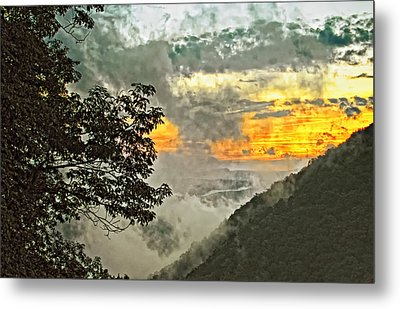 Above The Clouds 3 Metal Print by Steve Harrington