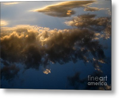 Metal Print featuring the photograph Above The Clouds by Janice Westerberg