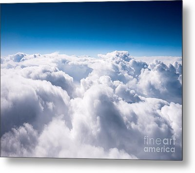Above The Clouds Metal Print by Paul Velgos