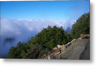 Above The Clouds Metal Print by Tom Mansfield
