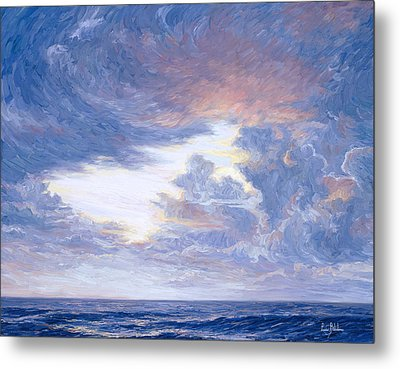 Above The Horizon Metal Print by Lucie Bilodeau