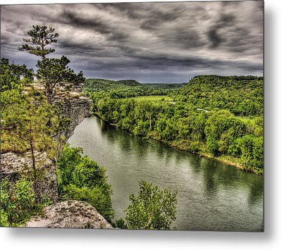 Above The White Metal Print by William Fields