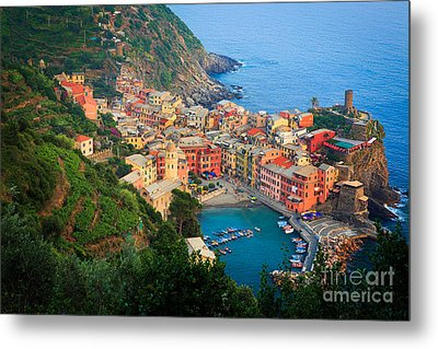 Above Vernazza Metal Print