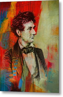 Abraham Lincoln 04 Metal Print by Corporate Art Task Force