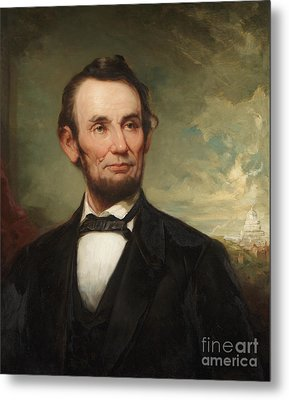Abraham Lincoln  Metal Print by George Henry Story