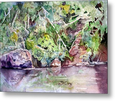 Abram's Creek Metal Print by Barry Jones