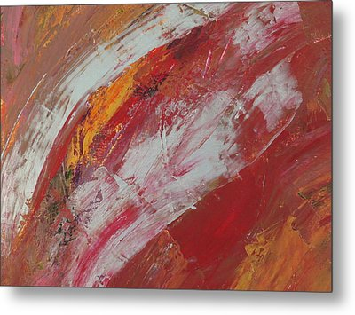 Abstract # 57 Metal Print