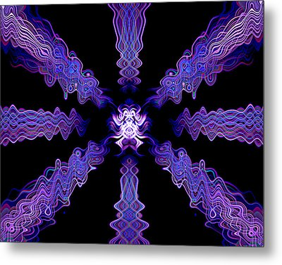Abstract 0049 Metal Print