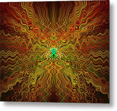 Abstract 0050 Metal Print