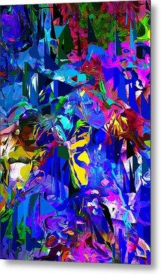 Abstract 010215 Metal Print by David Lane