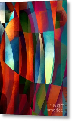 Abstract #1 Metal Print by Elena Nosyreva