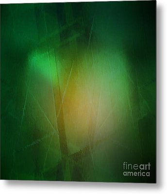 Abstract 1005 Metal Print by John Krakora