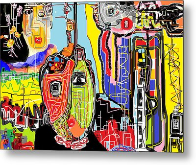 Abstract 101 Metal Print by Rc Rcd