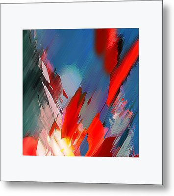 Abstract 11 Metal Print by Anil Nene