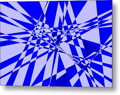 Abstract 152 Metal Print by J D Owen