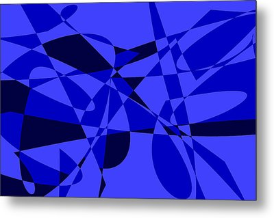 Abstract 153 Metal Print by J D Owen