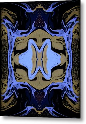 Abstract 161 Metal Print by J D Owen