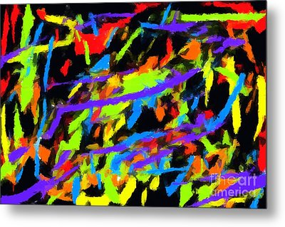 Abstract 2 Metal Print by Chris Butler