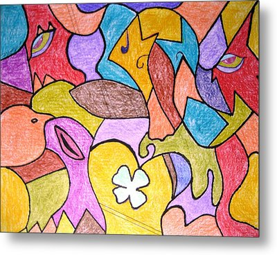Abstract 2 Metal Print by Will Boutin Photos