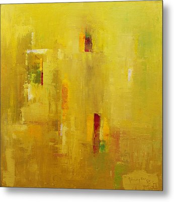 Abstract 2015 01 Metal Print by Becky Kim