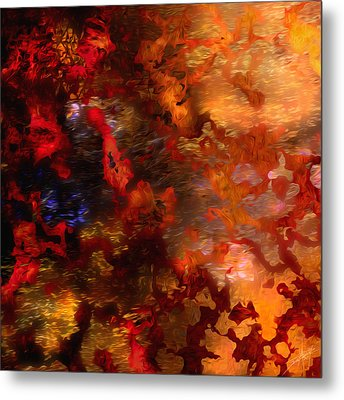 Abstract 21214a Metal Print by Daniel Mowry