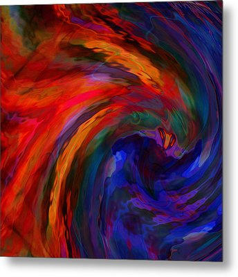 Abstract 29012013 - 042 Metal Print by Stuart Turnbull