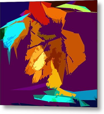 Abstract 3-2013 Metal Print by John Lautermilch