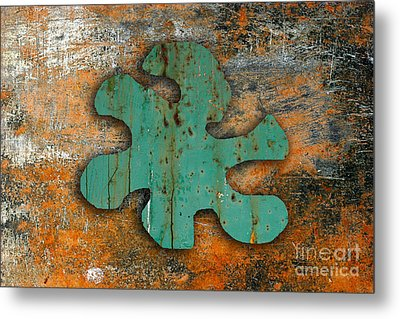 Abstract 3 Metal Print by Marvin Blaine