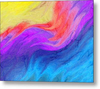 Abstract 37 Metal Print by Kenny Francis