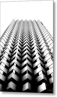 Abstract 5 Metal Print by Thomas Leon