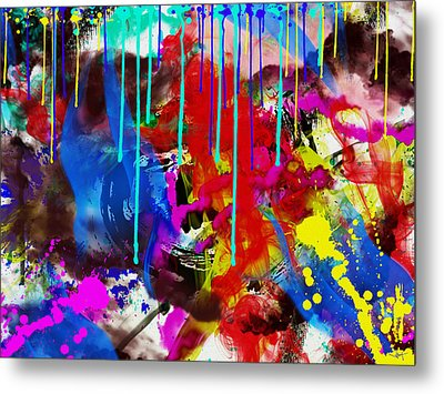 Abstract 6832 Metal Print by Sir Josef - Social Critic -  Maha Art