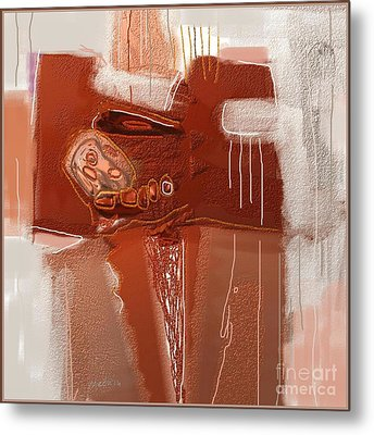 Abstract 946 Metal Print by Nedunseralathan R