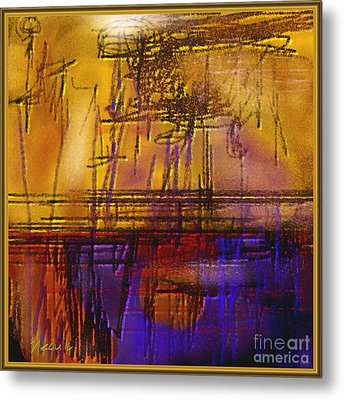 Abstract 970 Metal Print by Nedunseralathan R