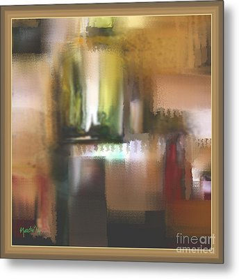 Abstract 972 Metal Print by Nedunseralathan R