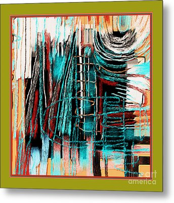 Abstract 974 Metal Print by Nedunseralathan R