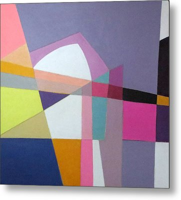 Abstract Angles Ix Metal Print by Diane Fine