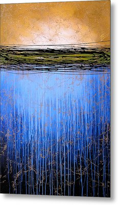 Abstract Art ... It Only Matters #3 Metal Print by Amy Giacomelli