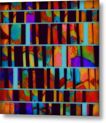 abstract - art- Color Pop  Metal Print by Ann Powell