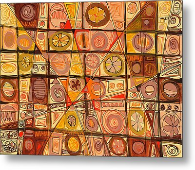 Abstract Art Sixty-five Metal Print by Lynne Taetzsch