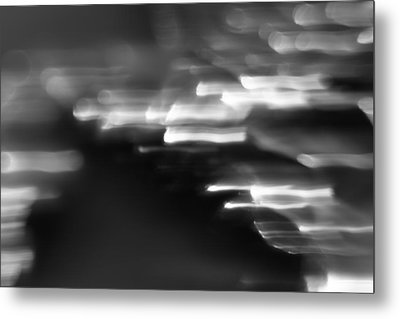 Abstract Metal Print by Brady D Hebert
