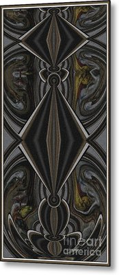 Abstract Door  Ad000001 Metal Print by Pemaro