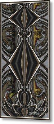 Abstract Door  Ad00001 Metal Print by Pemaro