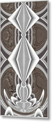 Abstract Door  Ad01 Metal Print