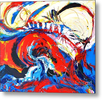 Abstract Expressionism No. 2 Metal Print