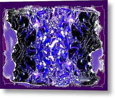 Abstract Fusion 117 Metal Print by Will Borden