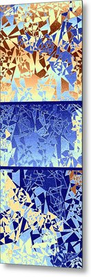 Abstract Fusion 194 Metal Print by Will Borden